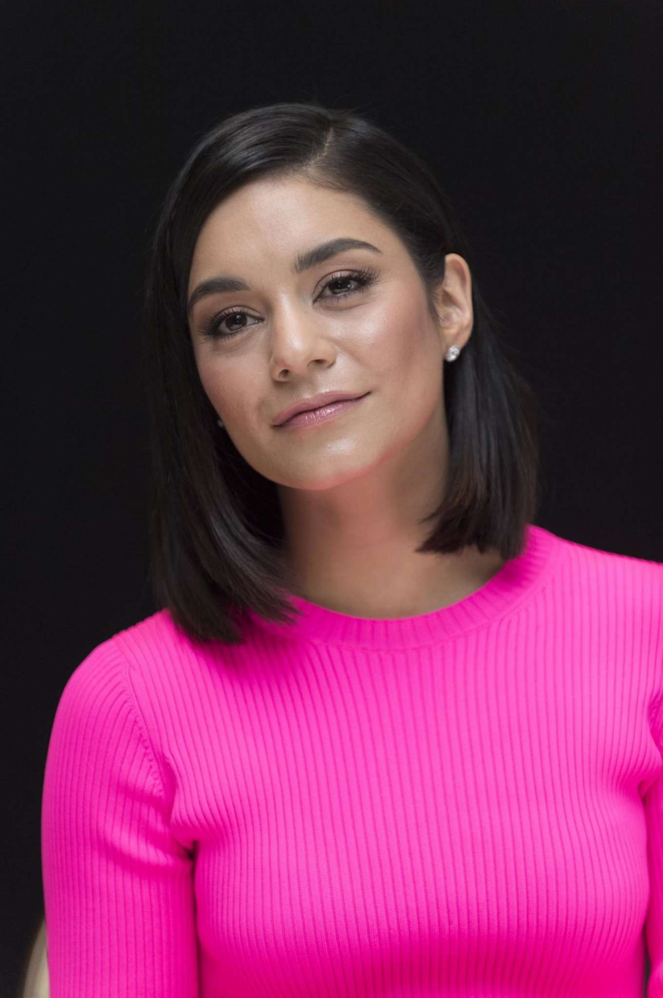 Vanessa Hudgens – 'Second Act' Press Conference in Beverly Hills